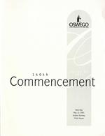 2001 - May - AM - Commencement - SUNY Oswego