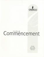 2003 - May - AM - Commencement - SUNY Oswego