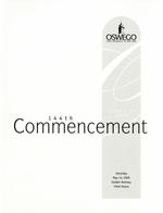 2005 - May - AM - Commencement - SUNY Oswego