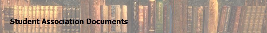 Student Association Documents
