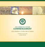 One Hundred Fifty-Second Commencement